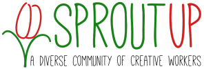 Sprout Up - A diverse community of creative workers - logo